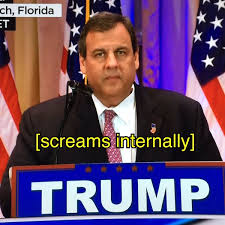 Chris Meme - screams internally chris christie s face know your meme