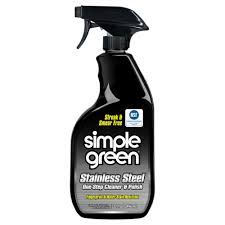 simple green 32 oz stainless steel cleaner and polish case of 12