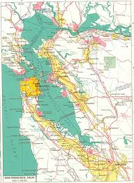 San Francisco Traffic Map by California Road Maps City Street Maps With Ca Travel Directions