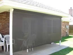 Patio Wind Screens by Enjoy Outdoor Spaces Year Round With Solar Screens From Beat The