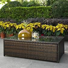 shop crosley furniture palm harbor 23 75 in w x 43 5 in l