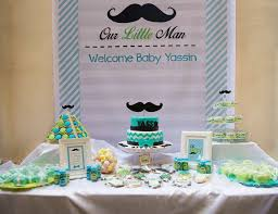mustache baby shower decorations baby shower mustache baby showers ideas