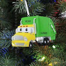garbage truck ornament ebay