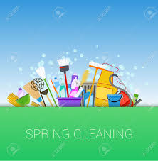 852 spring cleaning stock illustrations cliparts and royalty free