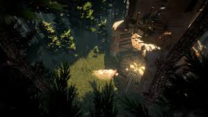 Lighting Environments Combining Ruins And Nature In 3d