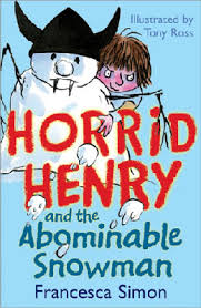 Horrid Henry Abominable Snowman Official Horrid Henry