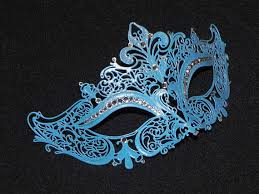blue masquerade masks light blue masquerade mask with glitter accents