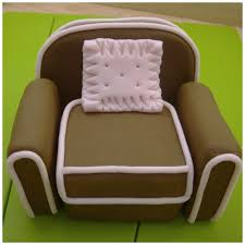 chair cake topper how to make a arm chair cake topper from rice crispie treats