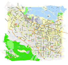 california map pdf pdf map of mountain view california printable map us exact