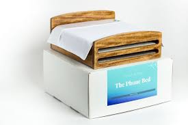 the phone bed charging station the thrive global store