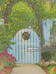 garden arch with gate nz home outdoor decoration