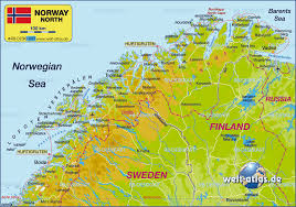 Norway World Map by Vardo Map