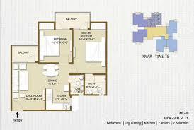 floor plan of panchsheel hynish sector 1 greater noida panchsheel