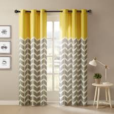 curtains and drapes 63 inch curtains black and white striped