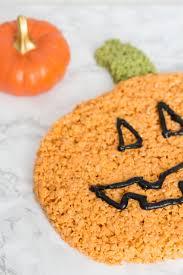 rice crispy treat pumpkins pumpkin rice krispies treat for treats and trends