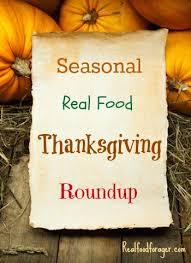 seasonal real food thanksgiving roundup
