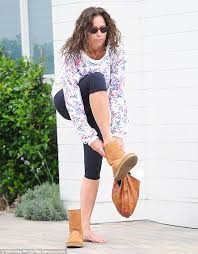 ugg boots sale los angeles ca minnie driver keeps it casual in and floral top daily