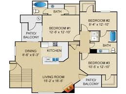 3 bedroom apartments tucson 3 bed 2 bath apartment in tucson az springs at continental