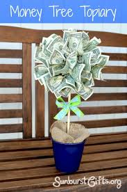 Real Topiary Trees For Sale - easy peasy money tree topiary christmas gifts thoughtful gift