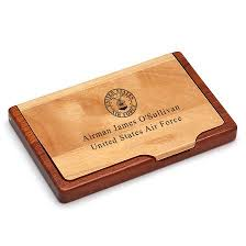 us army personalized business card holder executive gift shoppe