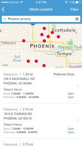 Phoenix Arizona Zip Code Map by Walgreens App Review A Pharmacy In Your Phone