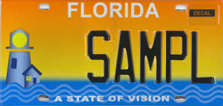 Lighthouse For The Blind Florida A State Of Vision Florida Specialty License Plates