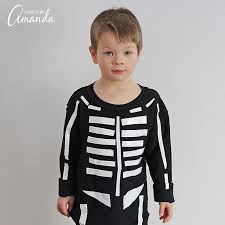 skeleton costume skeleton costume learn to make a skeleton costume using duct