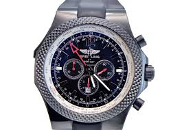 breitling bentley diamond breitling breitling bentley gt midnight carbon on rubber strap