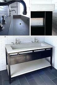 trough sink two faucets trough bathroom sink with two faucets full size of bathroom sink