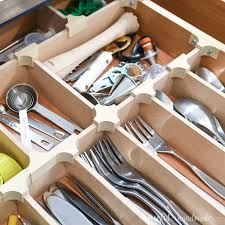how to organize kitchen drawers diy diy drawer dividers for perfectly organized drawers
