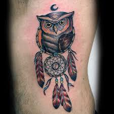 100 dreamcatcher tattoos for design ideas