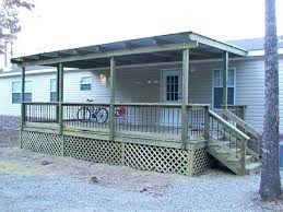 home deck plans porch decks for mobile homes deck plans front with metal cover home