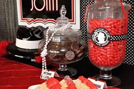 roaring 20s prom decorations entrance table ideas prom