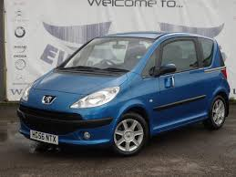 2nd hand peugeot used peugeot 1007 1 4 dolce 8v low mileage service history blue