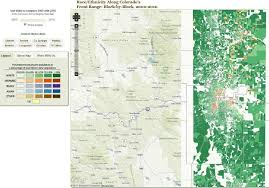 map us denver race and ethnicity map shows increasing gentrification of