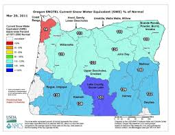 Oregon Vortex Map by Western Snow Pack Is Well Above Normal Squaw Valley Sets New All