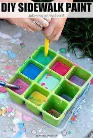 make your own diy sidewalk paint for kids