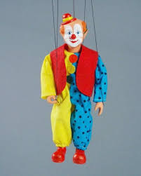clown puppets for sale buy clown marionette puppet online size 8 code ma032