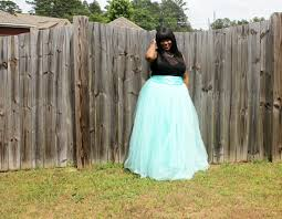 mint tulle skirt featuring shabby apple