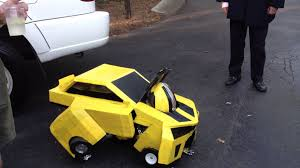 toddler bumble bee halloween costumes awesome bumblebee transformer costume homemade youtube