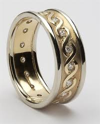 mens celtic wedding rings mens diamond celtic wedding rings mg wed76