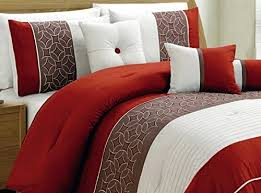 White And Red Comforter 0 Red Comforter Sets Queen Inspiring Fine 7 Piece Queen Luxury