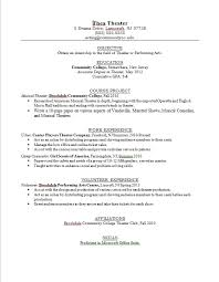 Actor Resume Samples by Resume Examples Templates Free Download 2015 Teen Resume Examples