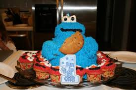 cookie monster birthday cake birthday party ideas