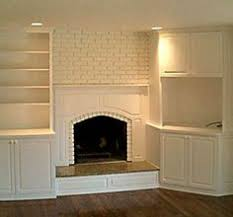 Built In Bookshelves Around Tv by Fireplaces With Bookshelves On Each Side Shelves By Fireplace