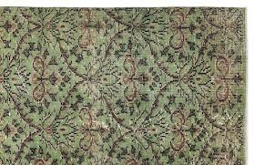 vintage turkish green rug for sale at pamono