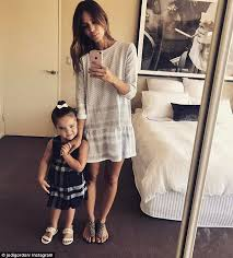 jodi gordon share a sweet mother daughter post daily mail online