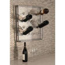 36 in h x 26 in w lacquer whole barrel wine rack with 2 shelves