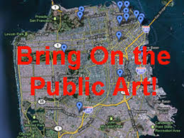 Map Of Chinatown San Francisco by Here U0027s A Handy Map Of San Francisco U0027s Best Public Art