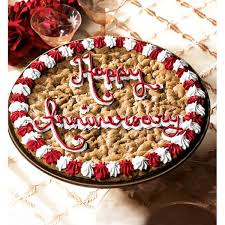 mrs fields cookie cakes mrs fields happy anniversary cookie cake free shipping on